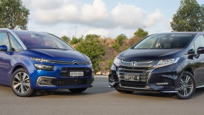 2018 Citroen Grand C4 Picasso v Honda Odyssey VTi comparison review