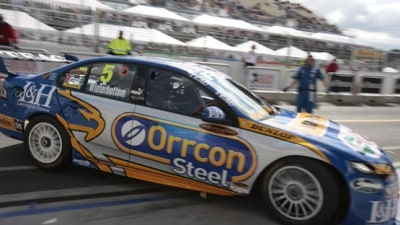 V8 Supercars: Winterbottom On Pole As Ford Sweeps Front Row