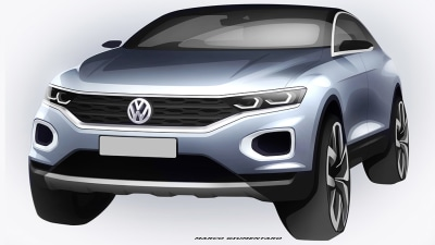 Volkswagen T-Roc Teaser Paves The Way For Production Small SUV