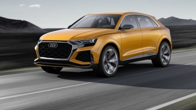 Audi Q8 Sport Concept Revealed - Geneva Motor Show