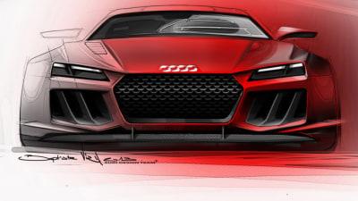 Audi Quattro Concept Teased