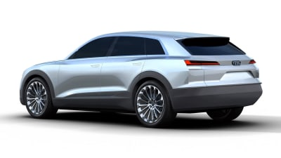Audi Q6 E-tron Images Leak Online Ahead Of Frankfurt Debut