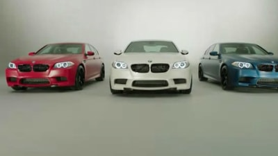 BMW Shows Off M3 And M5 Performance Editions For The UK