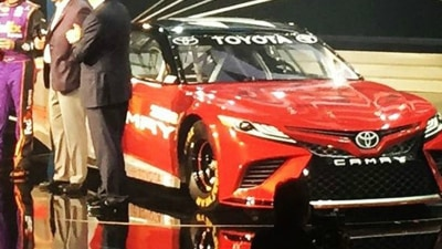 Toyota's New NASCAR Racer Previews All-New Camry