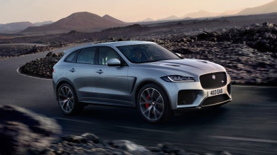 2018 Jaguar F-Pace SVR Australian price revealed