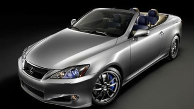 Lexus Extends F-Sport Performance Parts Range