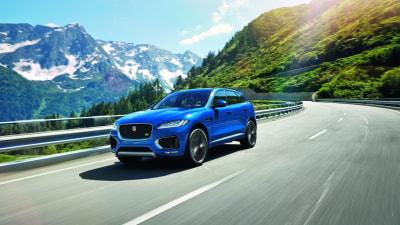 2016 Jaguar F-Pace Performance Crossover Debuts - Frankfurt Motor Show