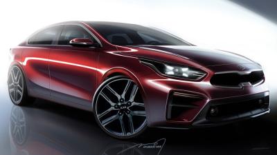 New Kia Cerato Sedan revealed