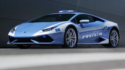 Italian Police Take Delivery Of Lamborghini Huracan Patrol Car