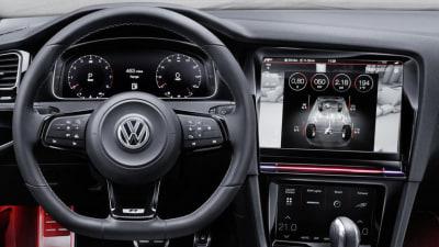 2017 Volkswagen Golf Update To Debut Huge Displays, Gesture Controls
