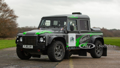 Bowler Land Rover Collection for auction