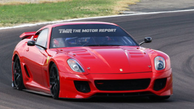 Ferrari 599XX Spied At The Track