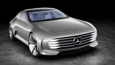 Frankfurt Motor Show - Mercedes-Benz Concept IAA Breaks Cover