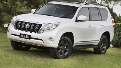 Toyota Prado Altitude: Special 'City SUV' Returns For 2015