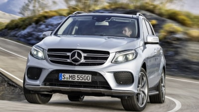 Mercedes GLE: M-Class Gets New Looks, New Name, New GLE 500e Hybrid