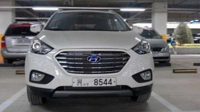 2013 Hyundai ix35 Facelift Caught In Korea, Santa Fe Spotted In Sydney