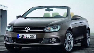 2011 Volkswagen Eos Styling Update Revealed