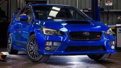 Subaru Australia Announces Limited Edition WRX STI NR4