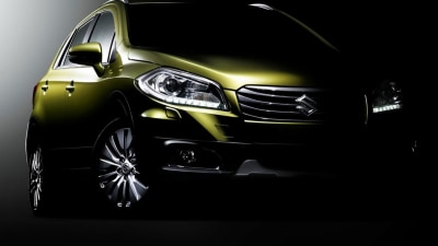 Suzuki S-Cross Prepares For Production