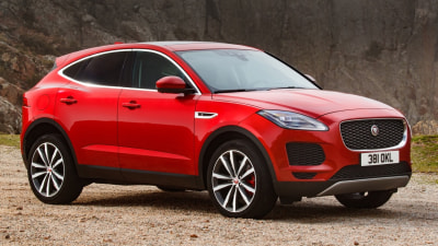 2018 Jaguar E-Pace Overseas Preview Drive
