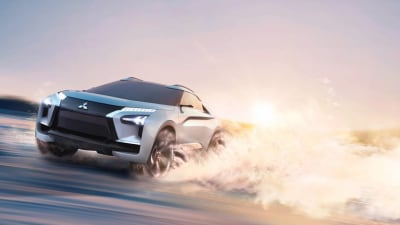 Mitsubishi e-Evolution Concept Adds High Performance To SUV Range