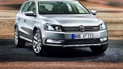 Volkswagen Passat Alltrack Revealed, Australian Debut In 2012