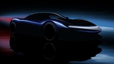 Electric supercar to be faster than F1