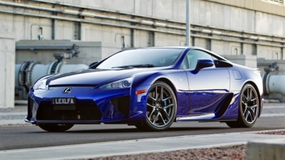 Lexus Sends Off LFA Supercar With Tribute Video