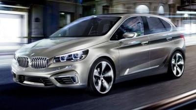 BMW 1 Series GT Teased: Concept Active Tourer Revealed For Paris