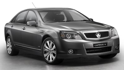 Holden WM Series II Caprice And Caprice V Revealed, Statesman Name Discontinued