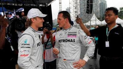 F1: Ecclestone Says Schumacher Criticism Not Fair, Montezemolo Wants Rossi In F1
