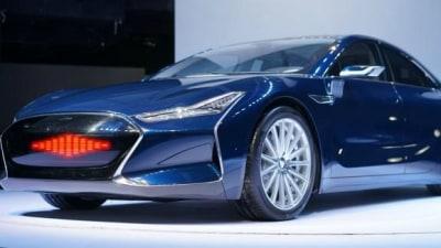 Tesla Model S, And KITT, 'Inspires' China's Youxia X Electric Sedan