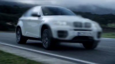 BMW Whips Out Second X6 Diesel Teaser Video