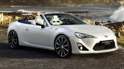 Toyota Rules Out 86 Cabrio: Report