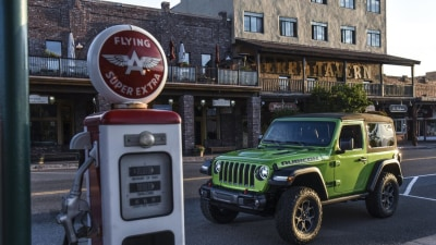 2018 Jeep Wrangler Rubicon Overseas Preview Drive