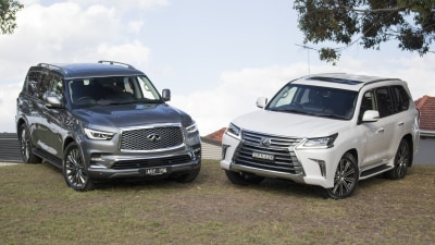 Lexus LX570 v Infiniti QX80 head-to-head review