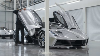 Lotus secures government funding for all-electric LEVA platform