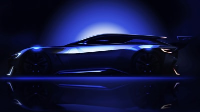 Subaru Teases GT Vision Concept