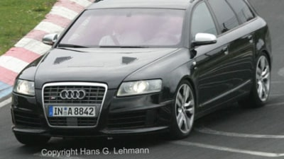 2008 Audi RS6 uncovered