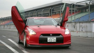 2009 Nissan GT-R Gets Lambo-Style Doors From LSD Design