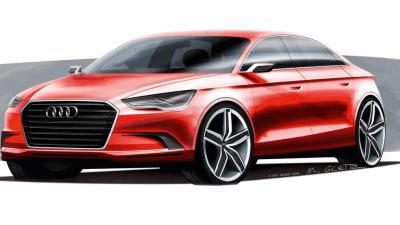 2011 Audi A3 Sedan Teased Ahead Of Geneva