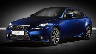 Lexus IS 300h Will Top Rivals On Government's Green Vehicle List