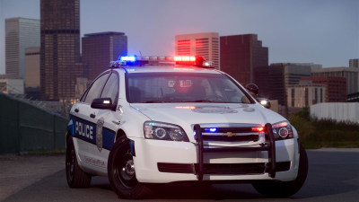 Chevrolet Caprice Police Vehicle Filmed On The Streets, Confirmed For Launch June 2011