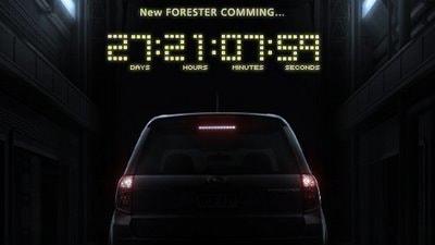 2008 Subaru Forester teaser image