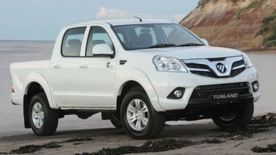 Foton Tunland Pickup - Free Towbar With Drive-Away Pricing For July