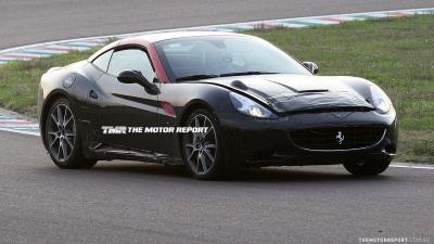 Ferrari California Update Spied Testing