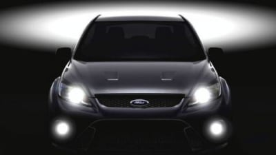 Ford Focus RS confirmed and teaser image released