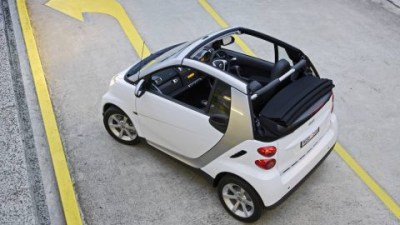 Indoor Drive-In Theatre - Smart Fortwo Supplied