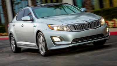 Kia Optima T-Hybrid Diesel Bound For Paris Motor Show