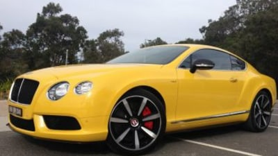 Bentley Continental GT V8 S quick spin review